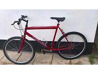 "Mountain bike size 26"" wheels"