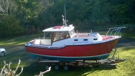 TAMAR 2000 ENTERPRISE TWO BERTH CABIN CRUISER 1988 GRP
