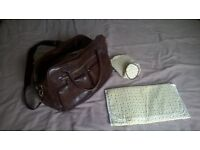 Koto baby changing bag with mat and insulated bottle bag