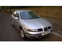 seat leon s with 12 month mot in excellent condition inside and out.start and runs excellent no prob