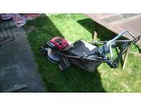 lawnmower honda hr214 , spares or repair