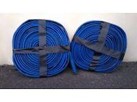 2 x 10m lenths of 25mm flat hose.