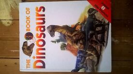 Book - Giant book of Dinosaurs 3D