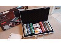 Brand New 300 Piece Quality Poker Set