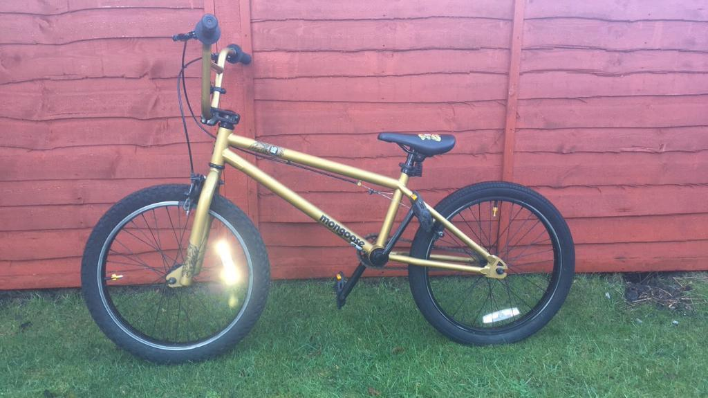 ** SOLD ** Mongoose Logo BMX for sale
