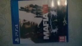 Mafia III PS4 game for sale with unused DLC codes.