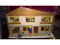 Vintage (70's) Dolls House by Playcraft