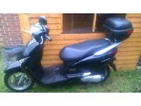 Honda Lead NHX 110 . 2010. clean example. £17 tax. Mot-08-17