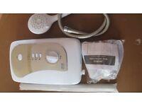 Triton Martinique 9.5Kw White/Chrome Electric SHower - Virtually Brand New