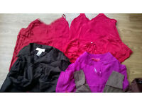 Bundle of pure SILK clothes, excellent condition, size 8-10