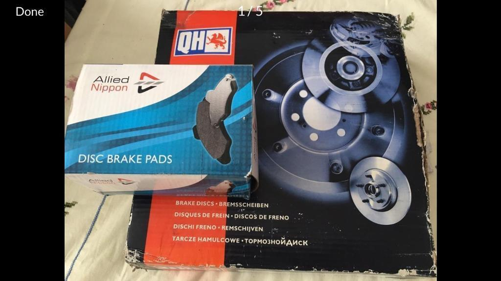Citroen Saxo brand new front brake pads and discs