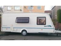Bailey ranger 4 berth with accessories and awning reduced for a quick sale