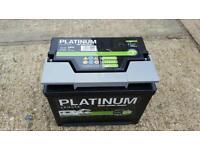 Caravan leisure battery 75amps as new