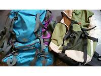 Two rucksacks