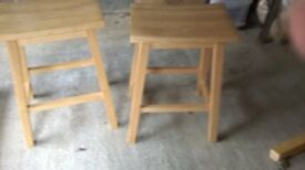 Space saver table and 2 stools