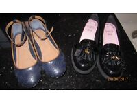 Girls shoes. Excellent condition. Size 13 1nd size 1.
