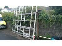 Glass rack for van