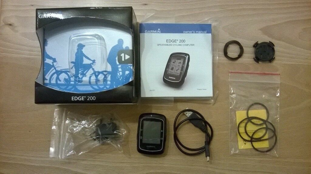 Garmin Edge 200 used Boxed