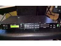 "Yamaha TG55 Tone Generator Synth Module 19"" rack mount"