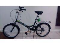 Brand New (Unused) Folding Stowaway Bicycle