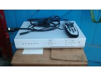 Sky plus box in white