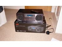 JVC RD-D70 All-In-One Hi-Fi with Bluetooth, USB, DAB/FM Radio, CD Player and Aux-in Socket