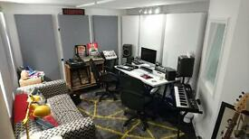 West London Recording Studio TIMESHARE to Let £199-400pcm (Music/Production/Post)