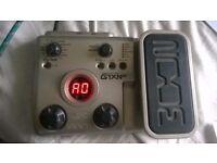 Zoom G1X N.E.X.T. multi Effects guitar pedal