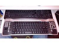 wirelles media center keyboard & trackball
