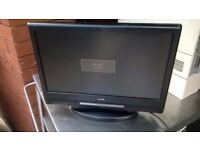 15 inch LCD TV on stand no remote central London bargain