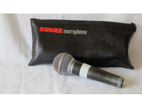 Shure SM58 Low Impedance Microphone.