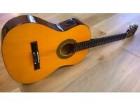 Herald Electro-Acoustic Classical Guitar 4/4 Full Size Great Condition