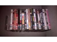 20 assorted DVDs