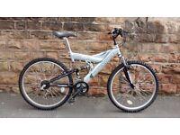 Zanussi shockwave sus 550 silver bike