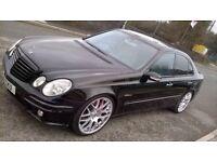 mercedes e500, full AMG upgrades, facelift model, V8, excellent condition,