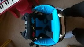 Littlelife Voyager backpack child carrier, age 1 +, very sturdy and easy to get on. Walking/hiking.