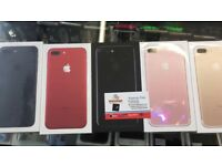 Iphone 7+ Plus 128gb UNLOCKED BRAND NEW CONDITION APPLE WARRANTY