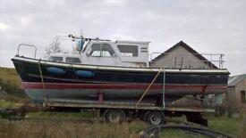Nelson 34 motor boat project