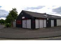 Showroom with workshop/prep and office area in Whitefriars Industrial estate, close to Perth Centre.