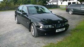 BMW e39 , 525d , 2002 . 9 months MOT . @NOT Jaguar,Passt, Golf, Leon,Jeep,Mercedes,Peugeot ,Audi.@@@
