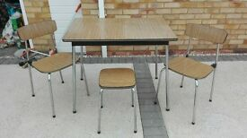 Tavo - Vintage Dining Table circa 1950's / 1960's - still has Tavo label.