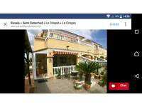 3 Bedroom Semi Detached House in Lo Crispin Algorfa Spain