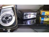 Retro photographic equipment