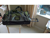 Ricardo Two Compartment Rolling Duffel Travel Case
