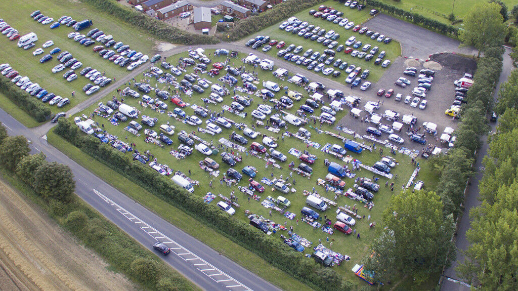 Stonham Barns Traditional Sunday Car Boot on 15th October from 8am #carboot