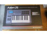 M-Audio Axiom 25 MK1 25-Key USB MIDI Keyboard Controller