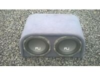 fli twin subs and head units