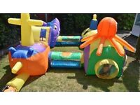 Airflow Adventure Under The Sea Tunnel's Ideal bouncy castle or soft play add on boxed as new