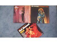 "3x Neil Diamond - Vinyl Albums including the double album ""Hot August Nights"""