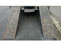 HEAVY DUTY RECOVERY RAMPS STRONG STEEL NOT ALLOY THE PAIR FOR 350 POUNDS